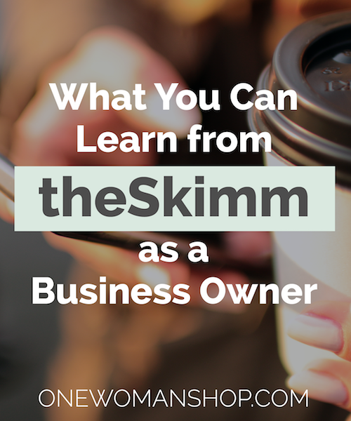 theSkimm lessons for business owners