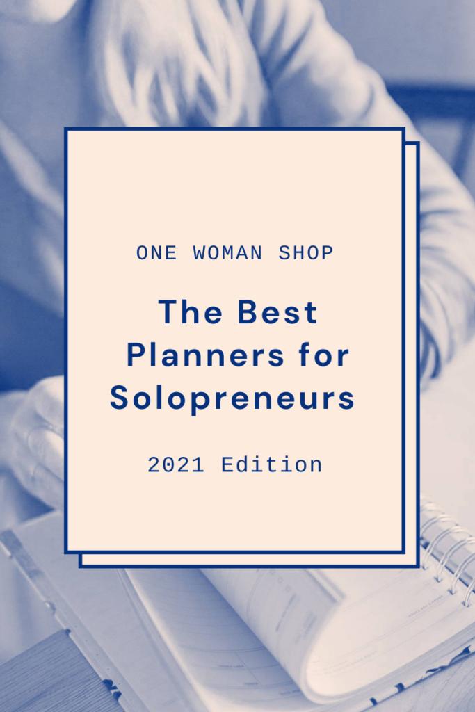 Best Planners for Solopreneurs